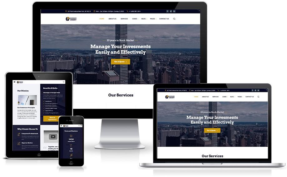 Site para administradora de condomínios