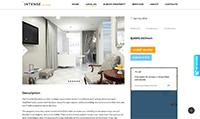Site para arquiteto :: Página Personalizadas