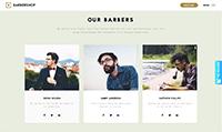 Site para barbearia :: Barbeiros