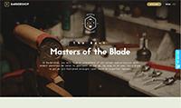 Site para barbearia :: Página Personalizadas