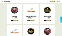 Site para barbearia :: Produtos