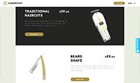 Site para barbearia :: Promoção