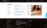 Site para bares :: Cardápio