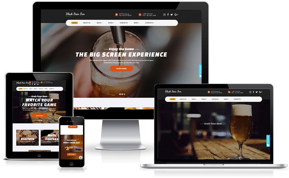 Site para bares