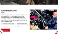 Site para centro automotivo :: Página Personalizadas