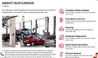 Site para centro automotivo :: Serviços