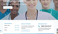 Site para clínica médica :: Página personalizadas