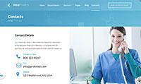 Site para clínica médica :: Página de localização