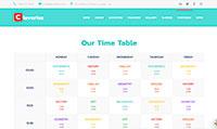 Site para colégio :: Página de calendário