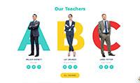 Site para colégio :: Página de equipe