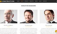 Site para construtora :: Página de equipe