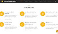 Site para construtora :: Página de atuação
