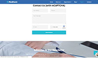 Site para corretora de saúde :: Cotação