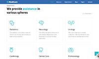 Site para corretora de saúde :: Serviços