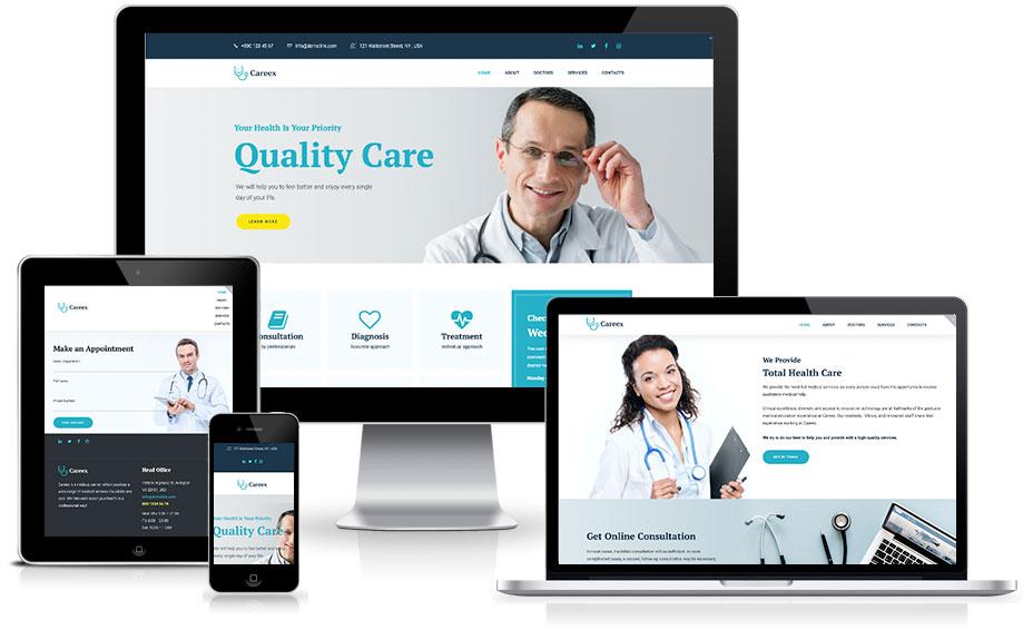 Site para corretora de saúde