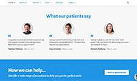 Site para dentista :: Depoimentos