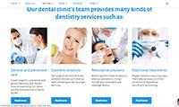 Site para dentista :: Especialidades