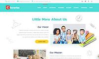 Site para escola :: Página de estrutura