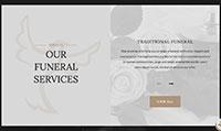 Site para funerária :: Página Personalizadas