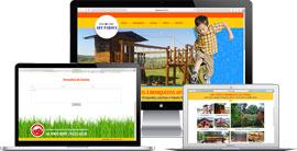 Criação de site :: Art Parque