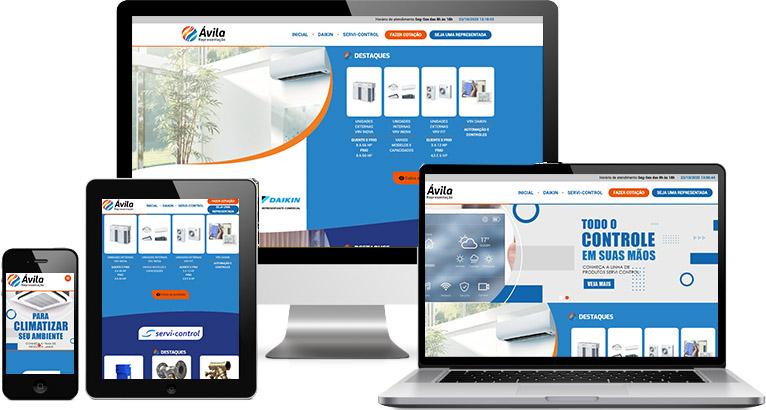Criação de site :: Avalia Representação