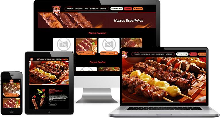 Criação de site :: Boutique do Espetinho