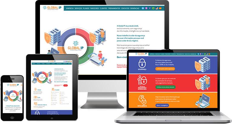 Criação de site :: Global Ip