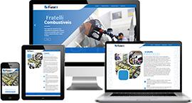 Criação de site :: Grupo Fratelli