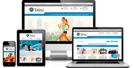 Criação de site :: Grupo Tebni