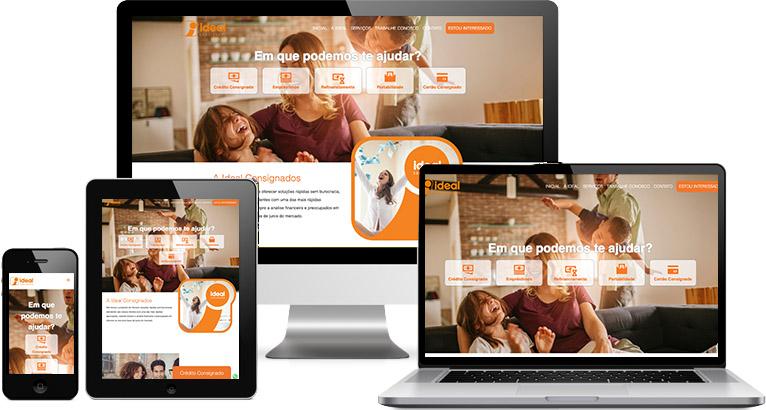 Criação de site :: Ideal Consignado