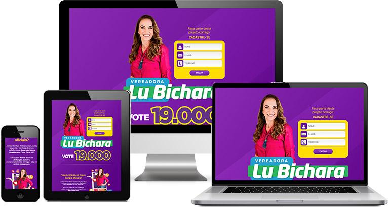 Criação de site :: Lu Bichara