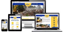 Criação de site :: Lunardi Demolições