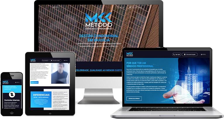 Criação de site :: Método Gestão Condominial