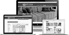 Criação de site :: Métrica Decoração