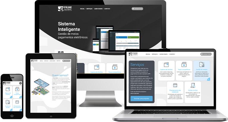 Criação de site :: Prime Global