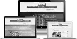 Criação de site :: Residencial Dubai