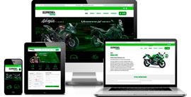 Criação de site :: Suprema Kawasaki