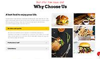 Site para hamburgueria :: Galeria