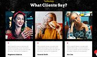 Site para hamburgueria :: Página Personalizadas