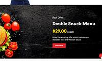 Site para hamburgueria :: Promoção