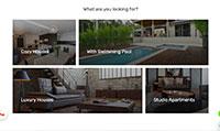 Site para imobiliária :: Página Personalizadas