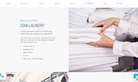 Site para lavanderia :: Página Personalizadas