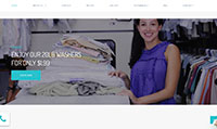 Site para lavanderia :: Promoção