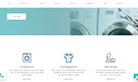 Site para lavanderia :: Serviços