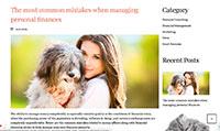 Site para pet shop :: Blog