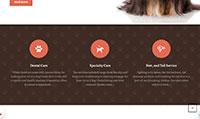 Site para pet shop :: Serviços