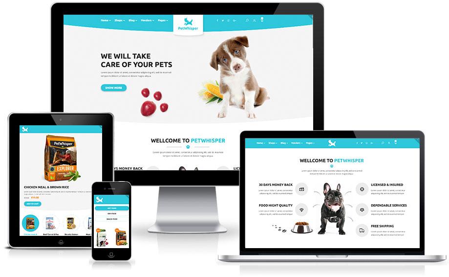 Site para pet shop