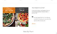 Site para pizzaria :: Promoção
