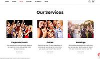 Site para promotor de eventos :: Página Personalizadas