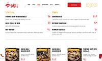 Site para restaurante :: Cardápio